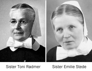 Sister Radmer and Sister Stede